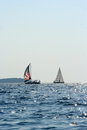Free Sailing Boats Royalty Free Stock Photos - 34769088