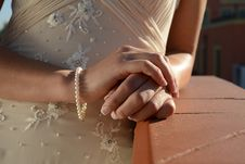 Free Bride Details Royalty Free Stock Photography - 34760597