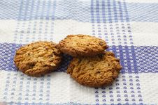 Free Chocolate And Wheat Cookies Royalty Free Stock Image - 34765566