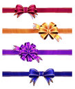 Free Colorful Ribbon With Bow Set Stock Images - 34770334