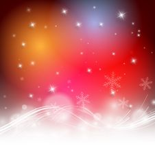 Christmas Colorful Vector Design Royalty Free Stock Photography