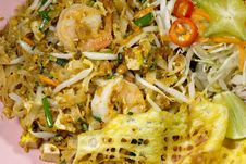 Free Thai Food Pad Thai Royalty Free Stock Photo - 34774545