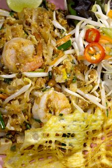 Free Thai Food Pad Thai Royalty Free Stock Images - 34774629