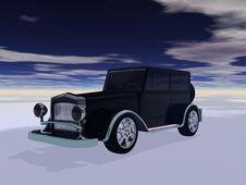 Free Retro Automobil Stock Photography - 34775132
