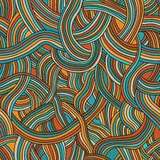 Free Seamless Pattern Of Colored Strips Of Smooth Stock Photos - 34776993