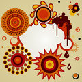 Free Abstract  Background With Different Design Elements. Royalty Free Stock Photos - 34785718