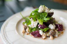 Free Feta Greek Cheese Salad Royalty Free Stock Photos - 34787308