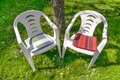 Free Two Empty Chairs Stock Photography - 34792132