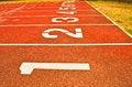 Free Sport Running Track Royalty Free Stock Photo - 34794535