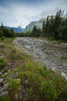 Beautiful Tatry Mountains Landscape Royalty Free Stock Photo