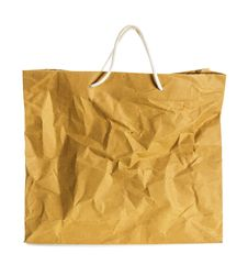 Free Wrinkled Paper Bag. Stock Photo - 34799910