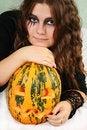 Free Gorgeous Halloween Girl Royalty Free Stock Photos - 3482298
