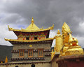 Free Tibetan Temple, Shangri-La Royalty Free Stock Images - 3483709