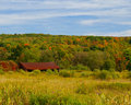 Free Barn In Autumn Royalty Free Stock Photography - 3484427