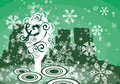 Free Winter Tree Background Stock Images - 3485914
