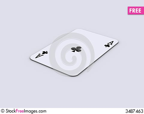 Free Play Cards 3 Stock Photos - 3487463