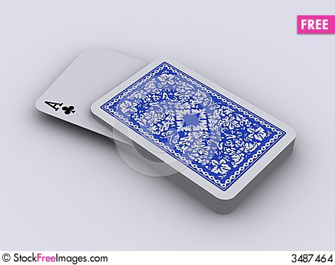 Free Play Cards 4 Stock Images - 3487464