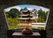 Free A Scenery View Of Lijiang Stock Images - 3480054