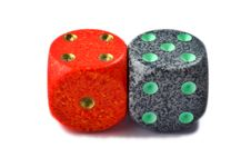 Free Red And Green Dice Stock Photos - 3481763