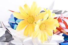 Free Composition With Flowers. Royalty Free Stock Photography - 3481787