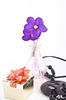Free Composition With Flowers. Stock Images - 3481794