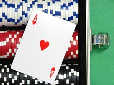 Free Ace Of Hearts Royalty Free Stock Photos - 3482118
