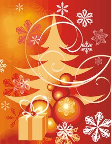 Free Winter Holiday Background Royalty Free Stock Images - 3482129