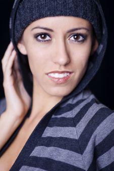 Free Fashion Portrait Of Club Girl Stock Image - 3482231