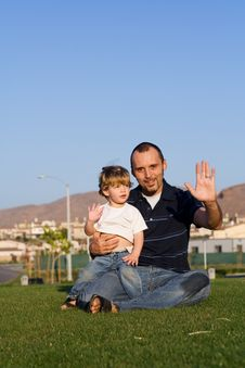 Free Father And Son Royalty Free Stock Photo - 3482275