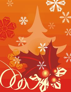 Free Winter Holiday Background Royalty Free Stock Photos - 3482408