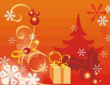 Free Winter Holiday Background Stock Image - 3482491