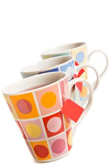 Free Three Painted Cups Stock Photo - 3482860