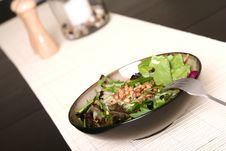 Free Vegetable Salad On Table Stock Image - 3482951