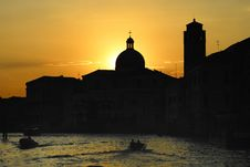 Free Venice Sunset Stock Images - 3483094