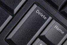 Free Delete Key Stock Photography - 3483582