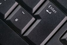 Free Keyboard - Enter Key Royalty Free Stock Image - 3483636
