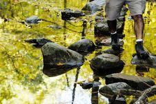 Free Autumn Bridge Royalty Free Stock Photos - 3484078