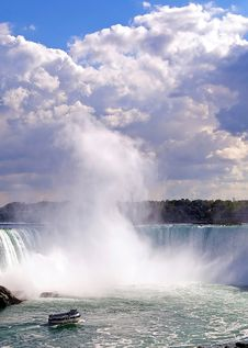 Free Horseshoe Falls Stock Images - 3484484