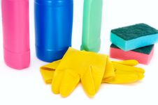 Free Cleaning Supplies Stock Photo - 3484760