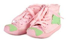 Free Child Training Shoes Royalty Free Stock Images - 3485259