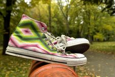 Free Sneakers Stock Images - 3485524