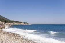 Free Village On A Beach Royalty Free Stock Images - 3485669