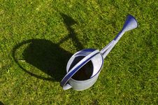 Free Watering-can Royalty Free Stock Photography - 3485697