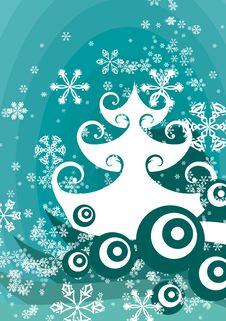 Free Winter Tree Background Royalty Free Stock Image - 3485836