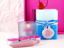 Free Composition With Candles Stock Photography - 3486702