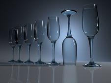 Free Champagne Glass Stock Photo - 3487220