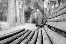 Free Old Bench Stock Photography - 3487232