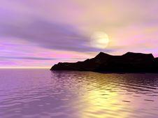Free Beautiful Sunset Stock Photography - 3487312