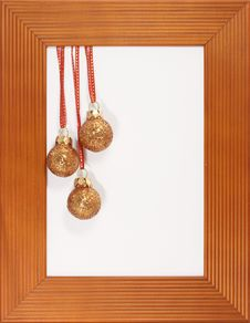 Decoration In Frame Royalty Free Stock Photography