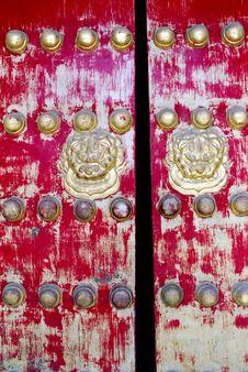 Free Red Door Stock Photo - 3488720